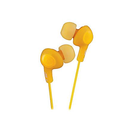 JVC® Gummy Plus Earbud Headphones, Orange