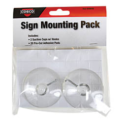 Cosco Sign Hanging Accessory Kit Pack