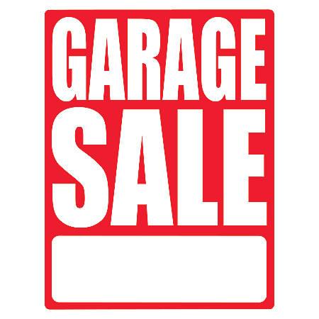 Cosco Sign Vinyl Decals Garage Sale X Pack Of With Price - How to price vinyl decals