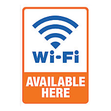 Cosco Sign Vinyl Decals Wi Fi