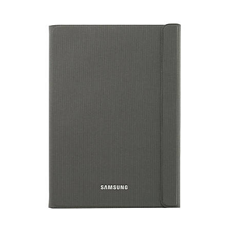 "Samsung Carrying Case (Book Fold) For Galaxy Tab® A 9"" Tablet, Dark Titanium"