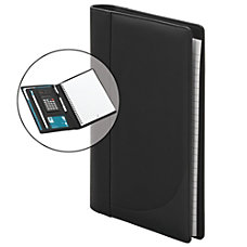 FORAY Small Personal Padfolio With Calculator