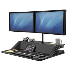 Fellowes Lotus Sit Stand Adjustable Workstation