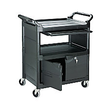 Rubbermaid 2 Shelf Utility Cart 37