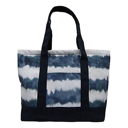 "Aquarius Canvas Tote Bag, 14""H x 15""W x 5""D, Printed"