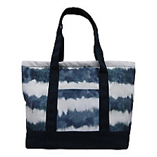 Aquarius Canvas Tote Bag 14 H