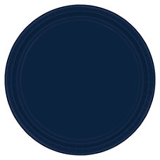 Amscan Round Paper Plates 10 12