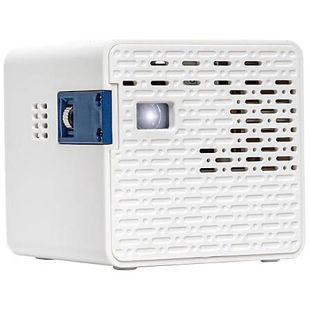 Aaxa technologies hd pico pocket projector 720p hdtv 169 for Pico pocket projector