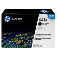 HP 641A Black Original Toner Cartridge