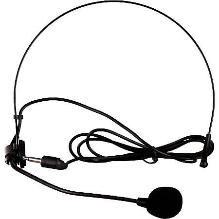 QFX M-309 Microphone - 80 Hz to 12.50 kHz - Wireless - Dynamic - Omni-directional - Lapel