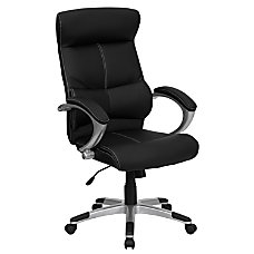 Flash Furniture Leather High Back Swivel