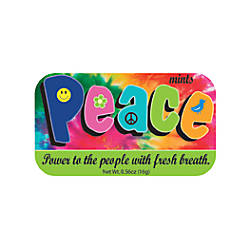AmuseMints Sugar Free Mints Peace 056