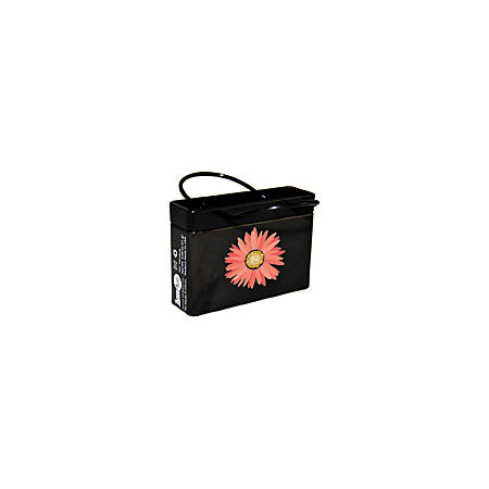 AmuseMints® Mint Candy Shopping Bag Tins, Pink Flower, 0.68 Oz,Pack Of 24