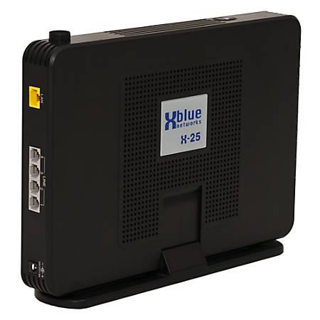 XBLUE® X25 4-Line Expansion Adapter, Black