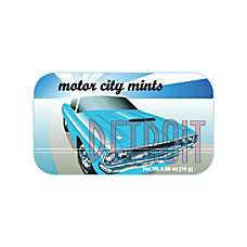 AmuseMints Destination Mint Candy Detroit Motor