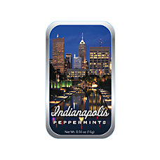 AmuseMints Destination Mint Candy Indianapolis Night