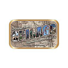 AmuseMints Destination Mint Candy Chicago Letters