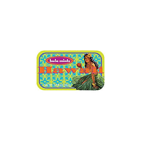 AmuseMints® Destination Mint Candy, Hawaii Hula, 0.56 Oz, Pack Of 24
