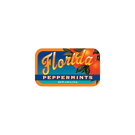 AmuseMints® Destination Mint Candy, Florida Peppermints, 0.56 Oz, Pack Of 24