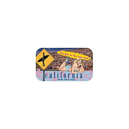 AmuseMints® Destination Mint Candy, CA Girl, 0.56 Oz, Pack Of 24