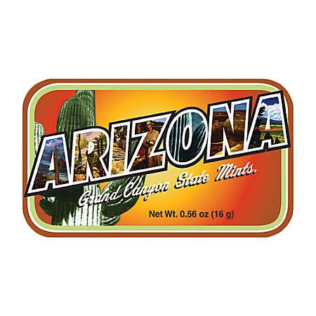 AmuseMints® Destination Mint Candy, Arizona, 0.56 Oz, Pack Of 24