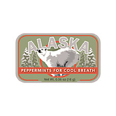 AmuseMints Destination Mint Candy Alaska Polar