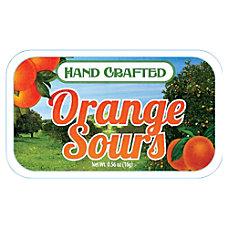 AmuseMints Fruit Sours Orange 056 Oz