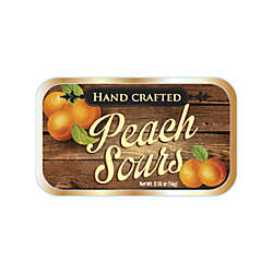 AmuseMints Fruit Sours Peach 056 Oz