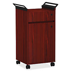 Lorell Small Steel Mobile Storage Cabinet