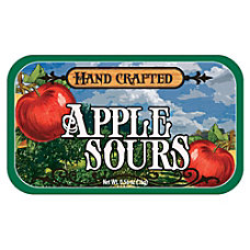 AmuseMints Fruit Sours Apple 056 Oz