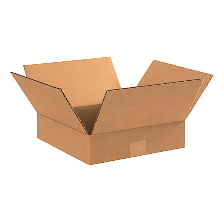 "Office Depot® Brand Corrugated Cartons, 12"" x 12"" x 3"", Kraft, Pack Of 25"