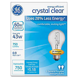 GE Lighting Energy efficient Clear 43W