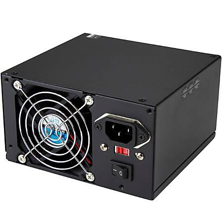 StarTech.com Professional - Computer Power supply with PCIe and SATA ( internal ) - ATX12V 2.01 - AC 115/230 V - 400 Watt - 14 output connector(s)