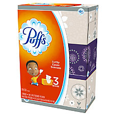 Puffs Basic 2 Ply Facial Tissues