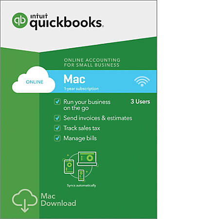 QuickBooks Online For Mac Download Version By Office Depot - What does a quickbooks invoice look like online discount furniture stores