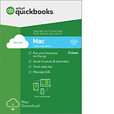 QuickBooks Online For Mac 2018 Download
