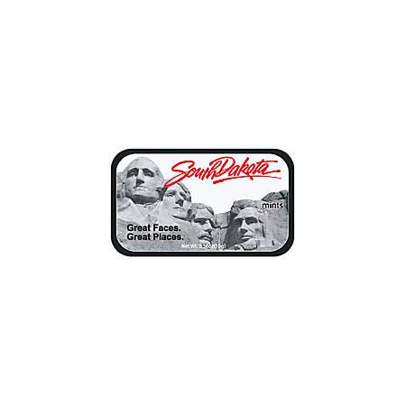 AmuseMints® Destination Mint Candy, South Dakota Mt. Rushmore, 0.56 Oz, Pack Of 24