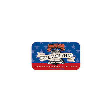 AmuseMints® Destination Mint Candy, Philadelphia Independence, 0.56 Oz, Pack Of 24