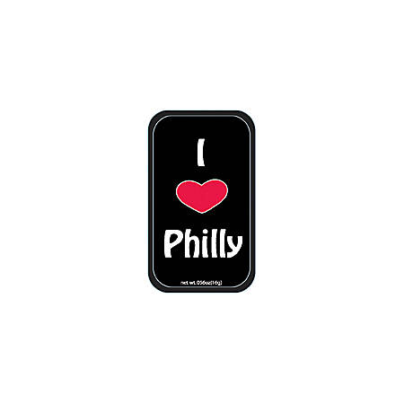 AmuseMints® Destination Mint Candy, I Heart Philly, 0.56 Oz, Pack Of 24