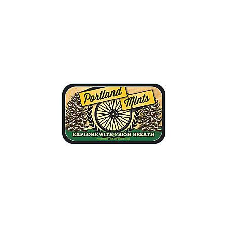 AmuseMints® Destination Mint Candy, Portland Bike Tire, 0.56 Oz, Pack Of 24
