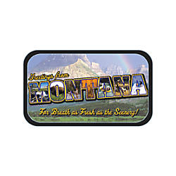 AmuseMints Destination Mint Candy Montana Letters