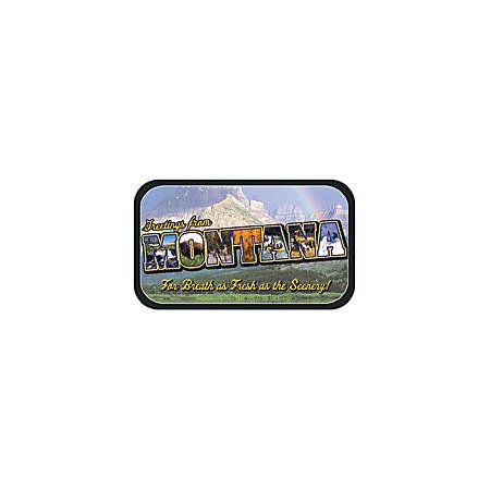 AmuseMints® Destination Mint Candy, Montana Letters, 0.56 Oz, Pack Of 24