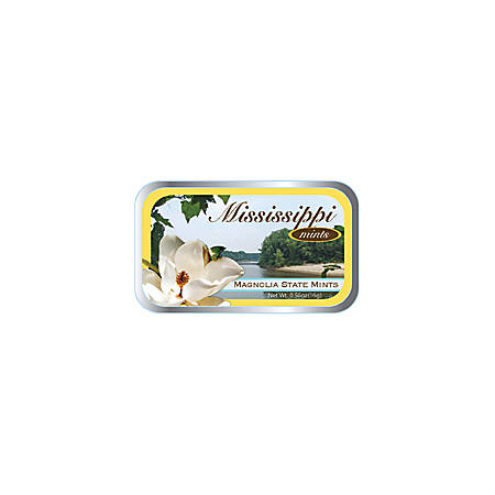 AmuseMints® Destination Mint Candy, Mississippi State, 0.56 Oz, Pack Of 24