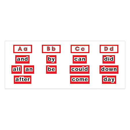 Scholastic High-Frequency Word Walls Bulletin Board Set, Level 1