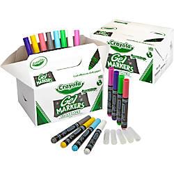 Crayola Gel FX Washable Markers Classpack