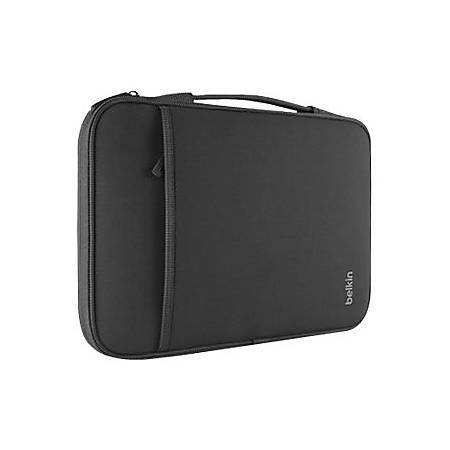 """Belkin - Notebook sleeve - 11"""" - black - for Apple MacBook Air (11.6 in)"""
