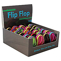 Amusemints Mint Candy Flip Flop Tins Assorted Colors Pack