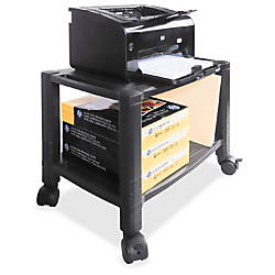 Kantek Mobile 2 Shelf PrinterFax Stand