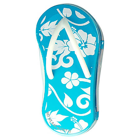 AmuseMints® Mint Candy Flip Flop Tins, Hibiscus Blue, Pack Of 24
