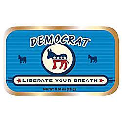 AmuseMints Sugar Free Mints Democrat 056